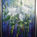 Bloemen 100 x 120 cm