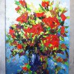 Bloemen 80 x 100 cm