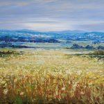 Frans landschap 70 x 140 cm verkocht